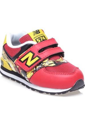 New Balance K574 Graffiti Kırmızı Çocuk Ayakkabı