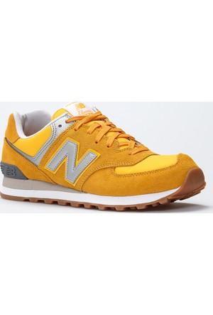 New Balance 574 Sarı Erkek Günlük Ayakkabı