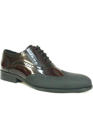 Fastway 1952 Siyah Bağcıklı Erkek Ayakkabı
