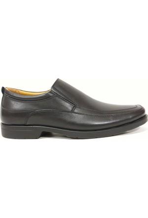 Punto 632169 Siyah Bağcıksız Comfort Erkek Ayakkabı