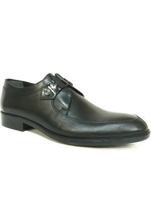 Punto 647246 Siyah Bağcıklı Erkek Ayakkabı