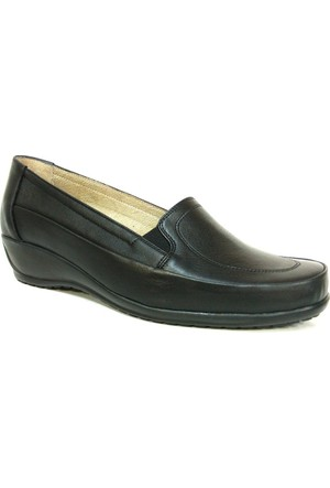 Fogs 6434 Siyah Ortopedik Bayan Anne Ayakkabısı