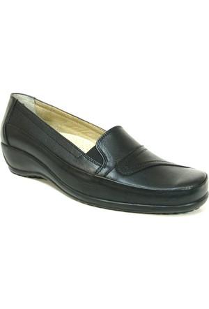Fogs 6426 Siyah Ortopedik Bayan Anne Ayakkabısı