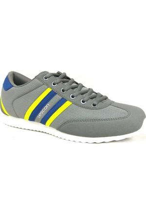 Lescon L4541 Gri-Fosfor Lifestyle Günlük Spor Ayakkabı