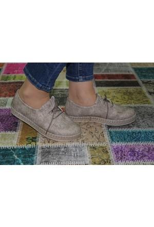 Feminant Fancy Keten Hasır Ayakkabı