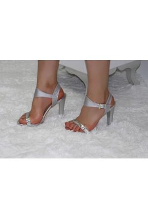 Feminant Lame Platform Ayakkabı
