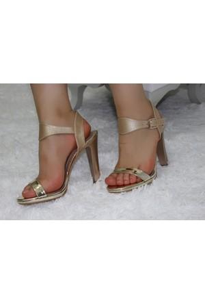 Feminant Dore Platform Ayakkabı