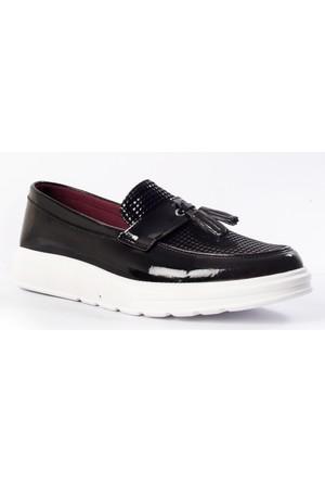Carrano Erkek Ayakkabı 103247 Siyah-Petek