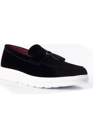 Carrano Erkek Ayakkabı 103238 Siyah Süet