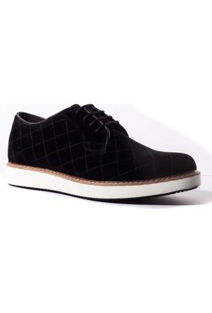 Conteyner Erkek Ayakkabı 489239 Siyah Velvet