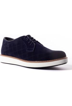 Conteyner Erkek Ayakkabı 489226 Lacivert Velvet