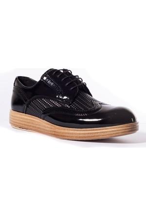 Conteyner Erkek Ayakkabı 619248 Siyah-Rugan