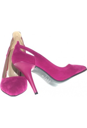 Altuğ 3121 Kadın Stiletto Topuklu Ayakkabı Pembe