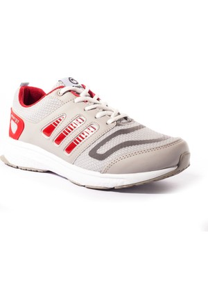Conpax Kadın Ayakkabı 735206 Gri-Kırmızı