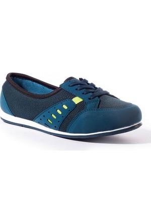 Conpax Kadın Ayakkabı 1080235 Petrol-Yeşil