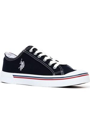 U.S. Polo Assn. Kadın Y7Linen Ayakkabı Lacivert