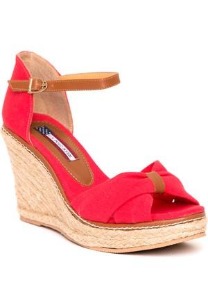 U.S. Polo Assn. Kadın Y7Kelly Ayakkabı Kırmızı