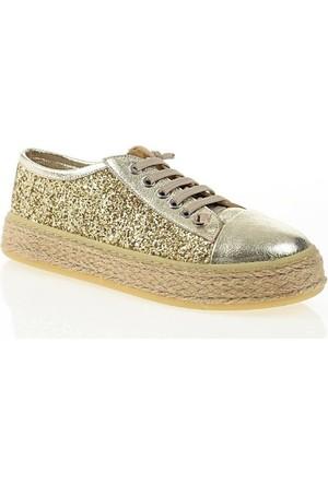 Nemesis Shoes Casual Ayakkabı Altın Deri