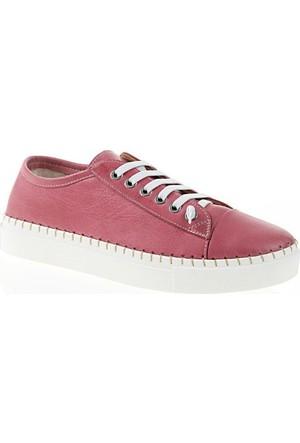 Nemesis Shoes Casual Ayakkabı Bordo Deri