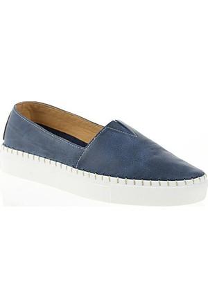 Nemesis Shoes Casual Ayakkabı Lacivert Deri