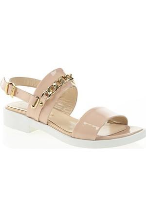 Nemesis Shoes Sandalet Pudra Rugan Zincirli
