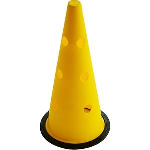 spor724 42 cm büyük boy delikli sarı antrenman hunisi
