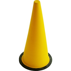 spor724 42 cm büyük boy sarı antrenman hunisi