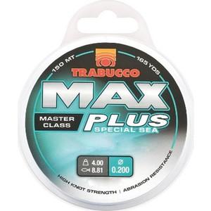 trabucco max plus bolentino 300m monoflament misina - 0,40 mm