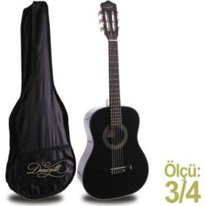 klasik gitar junior manuel raymond mrc87bk kilif hediye donizetti