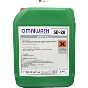 omniwash çamaşır suyu 5 kg sd20