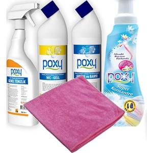 poxy kampanya 2 temizlik ürünleri