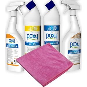 poxy kampanya 3 temizlik ürünleri
