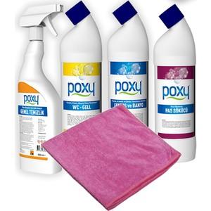 poxy kampanya 4 temizlik ürünleri