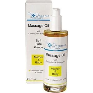 the organic pharmacy mother and baby massage oil anne ve bebek masaj yağı 100ml