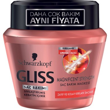 Gliss Bakim Maskesi Magnificent Strenght 200 Ml Fiyati