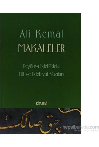 Makaleler - Peyam-ı Edebi'deki Dil ve Edebiyat Yazıları