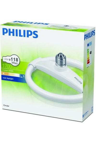 Philips Circular E27 Duylu 24W - Beyaz Işık