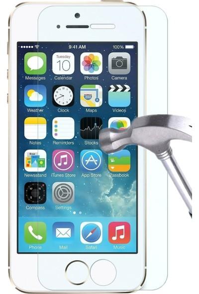 Case 4U Apple iPhone 5/5s Cam Ekran Koruyucu