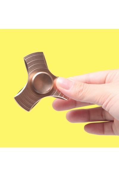 Metal Stres Çarkı Hand Spinner Stres Çarkı Denge Çark Anti-stress Rulman Pro 1.KALİTE METAL 3'lü