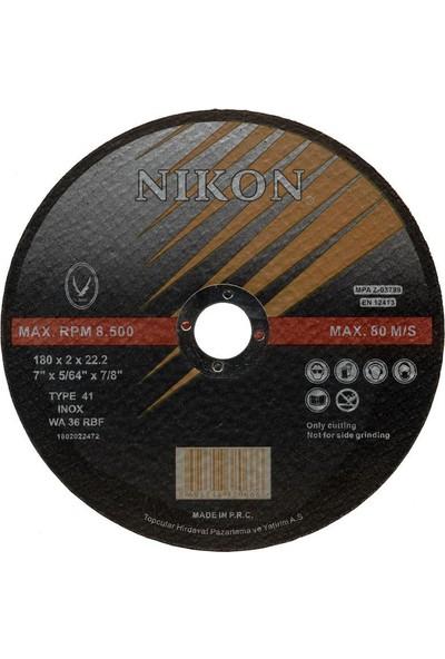 Nikon Düz İnox Kesme Taşı 115*1*22 mm 10 adet
