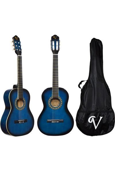 Victoria Klasik Gitar Seti Kılıf ve Pena Hediyeli 3/4 CG160BLS