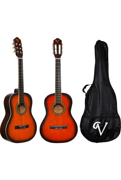 Victoria Klasik Gitar Seti Kılıf ve Pena Hediyeli 3/4 CG160SB
