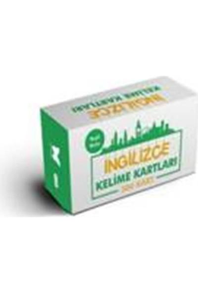 İngilizce Kelime Öğreten Kartlar 5. Kutu (Yeşil Kutu)