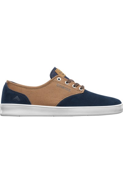Emerica The Romero Laced Navy Brown White Erkek Ayakkabı