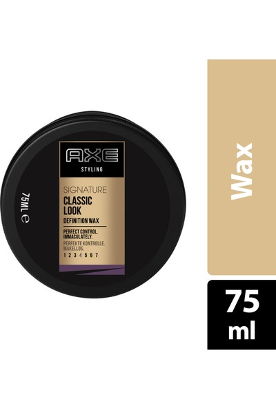Axe Signature Wax Klasik 75ml