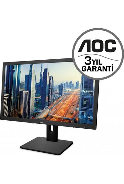 "AOC 27"" Q2775PQU 4ms (Analog+DVI+HDMI+Display) 4K IPS Monitör"