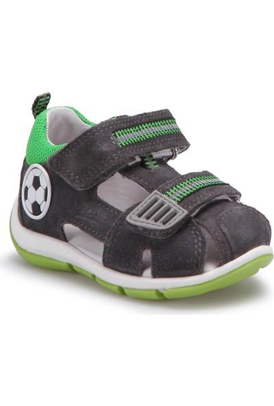 Superfit 00139-07 Be Gri Erkek Çocuk Deri Sandalet