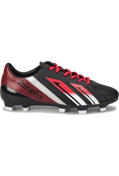 Kinetix Tuson Ag Siyah Kırmızı Beyaz Erkek Çocuk Halı Saha Ayakkabısı