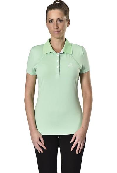 Kinetix A5132346 Açık Yeşil Kadın T-Shirt