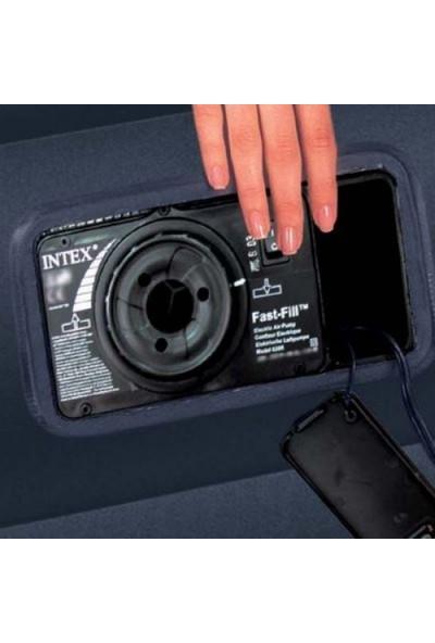İntex 64124 Şişme Yatak Dura-Beam Standart Fiber-Tech Technology 152 x 203 x 42 cm